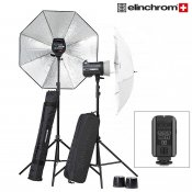 Elinchrom BRX 250/250 Paraply To Go Set