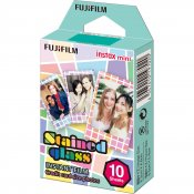 Fujifilm Instax Mini Film 10-Pack Stained Glass