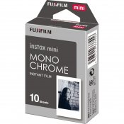 Fujifilm Instax Mini Film 10-Pack Monochrome