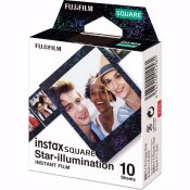 Fujifilm Instax Square Instant Film 10-Pack Star Illumi