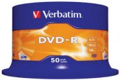 Verbatim DVD-R 4.7GB 16x 50-pack Spindel