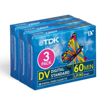 TDK DV-Band DVM-60 3-pack