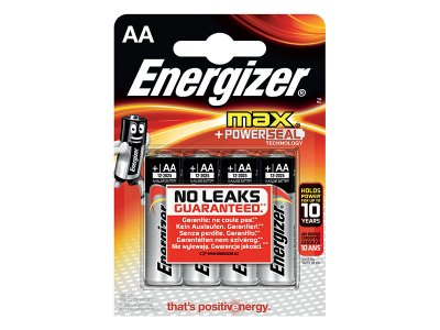 Energizer Max AA LR6 4-Pack