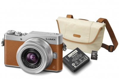 Panasonic Lumix DMC-GX800 + 12-32/3.5-5.6 Brun KIT
