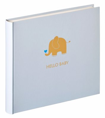 Walther Baby Album Animal Blå 28x25