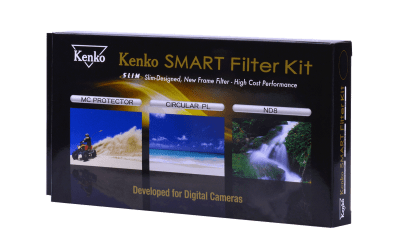 Kenko Smart Filter 3-Kit Protect/CPL/ND8