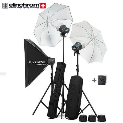 Elinchrom D-Lite RX ONE 3 Head Set