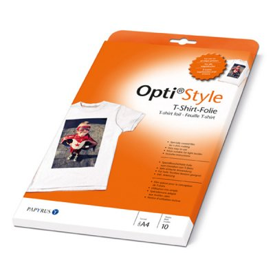 Opti style T-shirt Transfer Paper A 4 10 Sheets